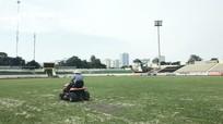 Sân Vinh bắt đầu quá trình cải tạo mặt cỏ kéo dài 40 ngày