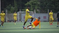 Sông Lam Nghệ An thi đấu nội bộ chờ V.League 2020 trở lại