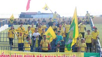 Sân Thanh Hóa vắng vẻ ngay trước trận đấu gặp Sông Lam Nghệ An