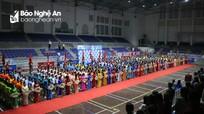 Gần 800 VĐV tham dự Giải Thể thao truyền thống Đảng bộ Khối Doanh nghiệp tỉnh Nghệ An