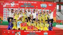 Đánh bại U11 Phú Yên, Sông Lam Nghệ An lần thứ 6 vô địch Nhi đồng toàn quốc