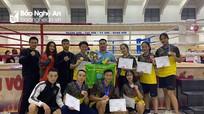 Nghệ An giành 4 HCV tại Giải Boxing trẻ và Kick-Boxing toàn quốc 2020