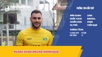 Ngoại binh Bruno Henrique: 'Tôi kỳ vọng sẽ ghi 15 bàn thắng cho SLNA'