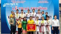 Nghệ An xếp thứ 3 tại Giải vô địch Karate miền Trung - Tây Nguyên 2021