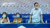Ông Nguyễn Hồng Thanh - TGĐ SLNA công khai xin lỗi người hâm mộ