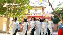 Vỡ òa xúc cảm ngày trở về của học sinh Khóa 75 Huỳnh Thúc Kháng