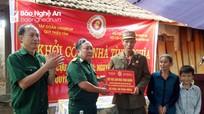 Khởi công xây nhà tình nghĩa cho CCB nghèo ở Quỳnh Lưu