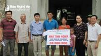 Hỗ trợ xây nhà tình nghĩa cho hộ nghèo ở Con Cuông