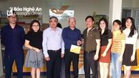 Thứ trưởng Bộ TT&TT thăm Bưu điện Nghĩa Đàn