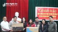 Sở Tư pháp bàn giao 30 máy tính, máy in cho các xã của huyện Quỳnh Lưu