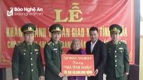 Khánh thành nhà tình nghĩa cho gia đình Anh hùng LLVT nhân dân Trần Văn Trí