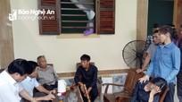TX. Thái Hòa hỗ trợ gia đình 3 chị em họ bị đuối nước tại sông Hiếu