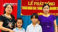 Hoạt động hỗ trợ học sinh nghèo ở Nghĩa Đàn, Tân Kỳ