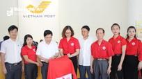 Bưu điện Nghệ An và Hội Chữ thập đỏ khai trương 'Thùng quỹ nhân đạo'