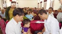 Hoạt động thiết thực hỗ trợ hộ nghèo, người khuyết tật
