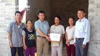 Hỗ trợ làm nhà ở cho hộ nghèo ở Quỳnh Lưu, Nghĩa Đàn