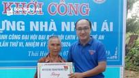 Khởi công xây dựng nhà nhân ái cho hộ nghèo ở TX Thái Hòa