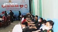 Hơn 150 đơn vị máu được hiến tại Ngày hội tình nguyện 'Giọt hồng yêu thương'