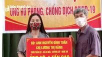 Gia đình Việt kiều ở Anh ủng hộ 1 tấn gạo cho bà con khó khăn do dịch Covid-19