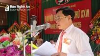 Đảng bộ xã Yên Khê (Con Cuông) tổ chức đại hội nhiệm kỳ 2020 - 2025