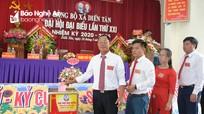 Đại hội Đảng bộ xã Diễn Tân (Diễn Châu) nhiệm kỳ 2020 - 2025