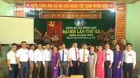 Đại hội Đảng bộ xã Hồng Sơn (Đô Lương) nhiệm kỳ 2020 - 2025