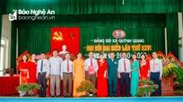 Đại hội đại biểu xã Quỳnh Giang (Quỳnh Lưu) lần thứ XXVI, nhiệm kỳ 2020 - 2025