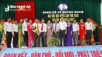 Đại hội đại biểu Đảng bộ xã Quỳnh Nghĩa (Quỳnh Lưu) nhiệm kỳ 2020 - 2025