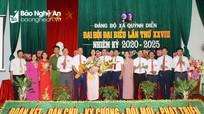 Đại hội đại biểu Đảng bộ xã Quỳnh Diễn (Quỳnh Lưu) nhiệm kỳ 2020 - 2025