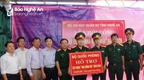 Bộ CHQS tỉnh Nghệ An khởi công xây nhà đồng đội cho quân nhân khó khăn ở Anh Sơn