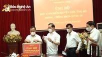 Thành ủy Vinh phát động ủng hộ Quỹ phòng chống Covid-19