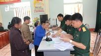 Anh Sơn chi trả trợ cấp 1 lần cho 349 đối tượng