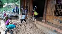 Kỳ Sơn: 84 nhà dân bị ngập lụt, vùi lấp và 9 nhà khác phải di dời khẩn cấp