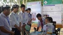 Nhóm học sinh Con Cuông đạt giải nhất với sáng chế cải tiến xe lăn