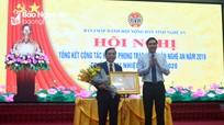 Chủ tịch Hội nông dân Nghệ An được tặng Huân chương lao động hạng Ba