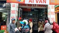 Nghệ An: Khẩu trang đội giá gấp 7 lần vẫn 'cháy' hàng