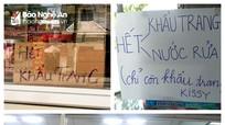 Nghệ An: Các nhà thuốc vẫn tiếp tục treo biển 'hết khẩu trang'