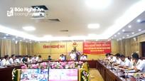 Công bố quyết định kiểm toán ngân sách địa phương năm 2019 tại Nghệ An