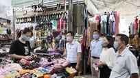Thành phố Vinh: 'Không đeo khẩu trang thì không vào chợ'