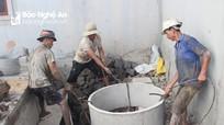 Nghệ An: Nắng hạn gay gắt, thợ đào giếng kiếm tiền triệu mỗi ngày