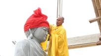 Thỉnh 3 bức tượng Phật về chùa Vĩnh Phúc (Nam Đàn)