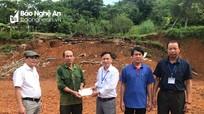 Quế Phong hỗ trợ 60 triệu đồng cho nhà bị sập trong cơn bão số 3