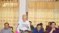 """Hội thảo """"Lịch sử Bộ đội biên phòng tỉnh Nghệ An""""  giai đoạn 1959 - 2019"""