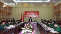 Đồng chí Nguyễn Đắc Vinh: Thực hiện tốt nhiệm vụ quân sự, quốc phòng địa phương