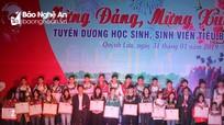 Giao lưu mừng Đảng, mừng Xuân và tuyên dương 34 học sinh, sinh viên tiêu biểu