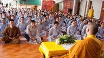Chùa Phúc Lạc tổ chức lớp Tu niệm Phật một ngày