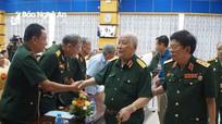 Gặp mặt các tướng lĩnh là con em Nghệ An tại Hà Nội