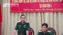 Khảo sát tổ chức biên chế và hoạt động cơ quan chính trị các cấp của lực lượng vũ trang