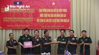 Vun đắp mối quan hệ hữu nghị hợp tác giữa Quân đội và nhân dân 2 nước Việt Nam – Lào