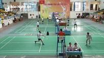 Hơn 150 vận động viên tham gia giải Cầu lông toàn quốc Báo Thanh tra lần thứ XVI